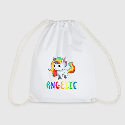 Unicorn Angelic - Drawstring Bag
