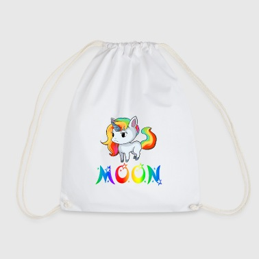 Unicorn Moon - Drawstring Bag