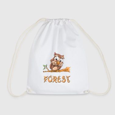 Owl forest - Drawstring Bag