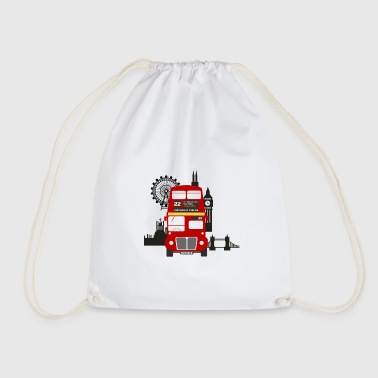 England, London, sightseeing, - Drawstring Bag