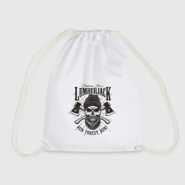 Lumberjack - Drawstring Bag