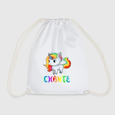 Unicorn Chante - Drawstring Bag