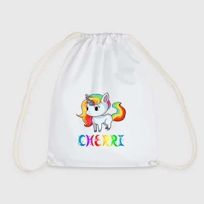 Unicorn Cherry - Drawstring Bag