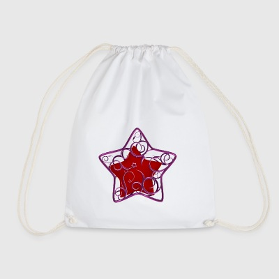 Star in the cage - Drawstring Bag