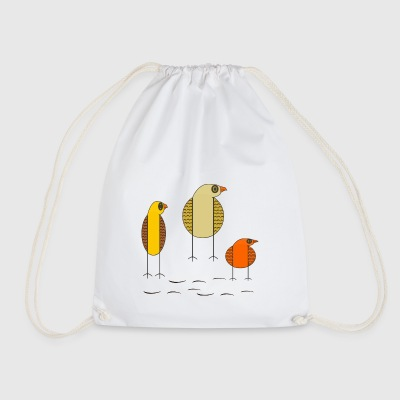 birds - Drawstring Bag