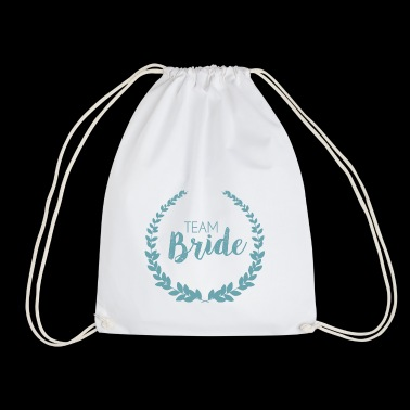 Team Bride Blue - Turnbeutel