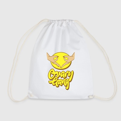 Ovary Gang - I Believe In Women'S Rights Feminism - Drawstring Bag