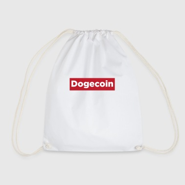 Dogecoin Red Rectangle- Blockchain Crypto-monnaie - Sac de sport léger