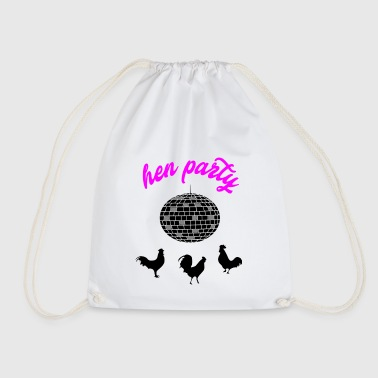 hen party 4 - Drawstring Bag
