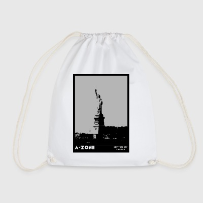 AZONE liberty poster - Drawstring Bag