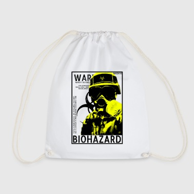 Biohazard bsl4 gas Yellow - Drawstring Bag