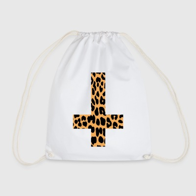 Leopard Inverted Cross - Gymtas