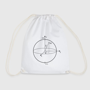 Bloch Sphere - Drawstring Bag