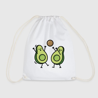 Avocado handball basketball korfball - Drawstring Bag