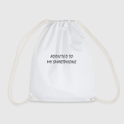 Addicted to my smartphone - Drawstring Bag