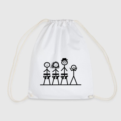 Schluebber Family Sad - Drawstring Bag