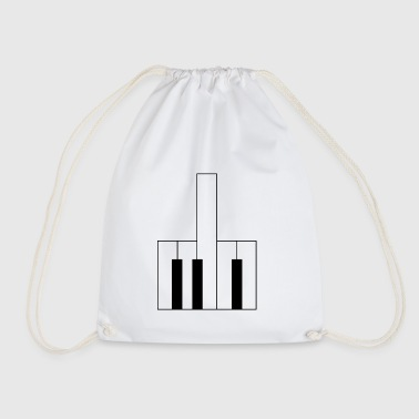 Piano fuck you - Drawstring Bag