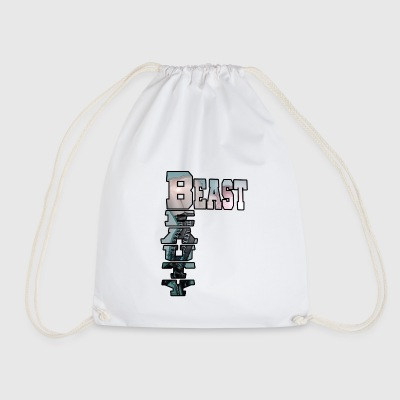 BEAST AND BEAUTY - Drawstring Bag
