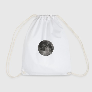 Glowing Full Moon - Drawstring Bag