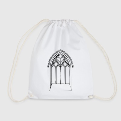Church window - Drawstring Bag