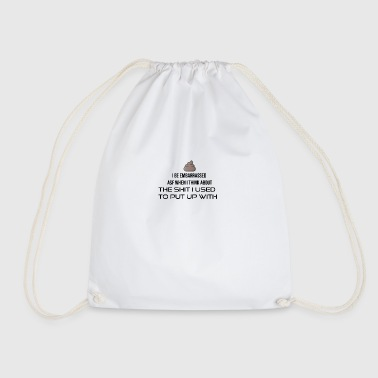 I be embarrassed as fuck - Drawstring Bag