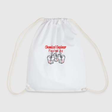 chemical engineer fueled by - Drawstring Bag