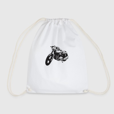 Biker motorcycle - Drawstring Bag