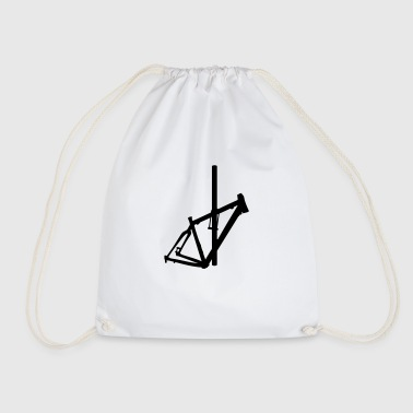 Bicycle frame 1 - Drawstring Bag