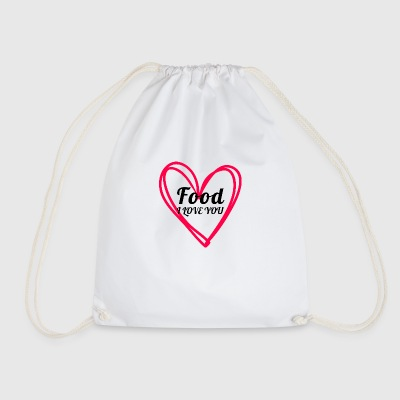 food - Drawstring Bag