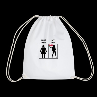 Sudan gift my your wife - Drawstring Bag