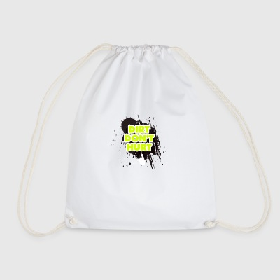 DIRT DO NOT HURT - MOTOCROSS - Drawstring Bag