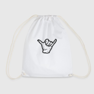 Hand shaka hawaii - Drawstring Bag