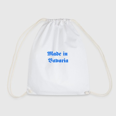 Made in Bavaria - Drawstring Bag