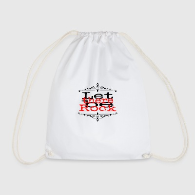 Let there be Rock - Drawstring Bag
