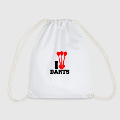 darts - Drawstring Bag