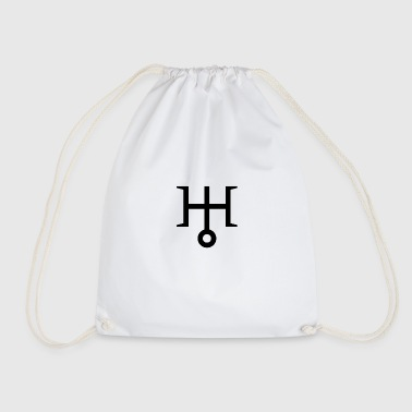 Uranus | Astrological symbol - Drawstring Bag