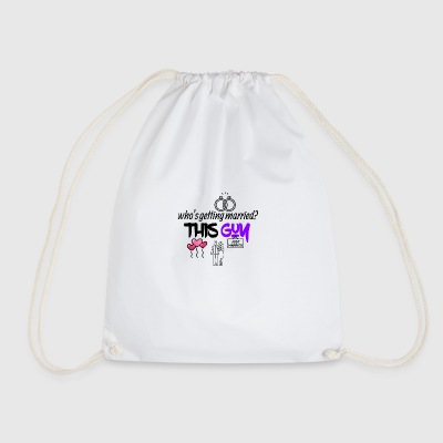 This guy is getting married - Drawstring Bag
