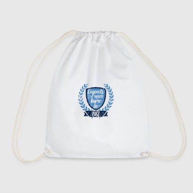 Legends were born 1987 - Drawstring Bag