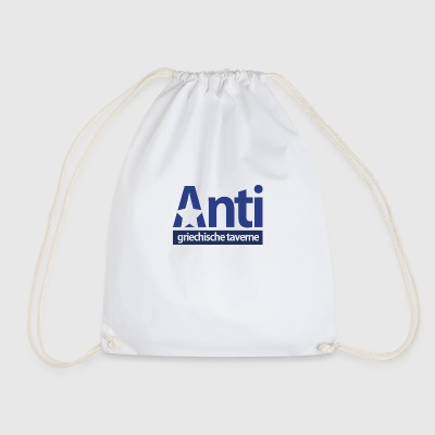 Anti Star Logo Blue version - Turnbeutel