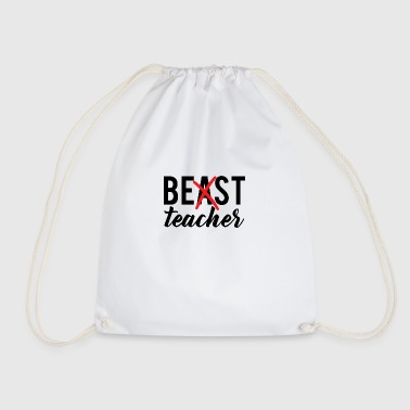 Teacher / School: Best Teacher - Drawstring Bag