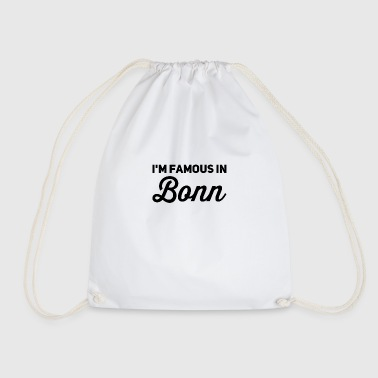In the famous in bonn - Drawstring Bag