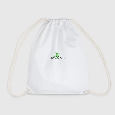 Hipster Smoke - Drawstring Bag