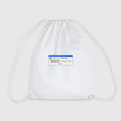 Finland Summer Error Message - Drawstring Bag