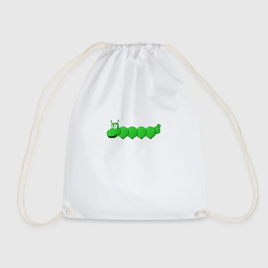 small sweet caterpillar - Drawstring Bag
