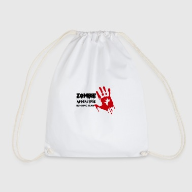 Zombie: Zombie Apocalypse Running Team - Drawstring Bag