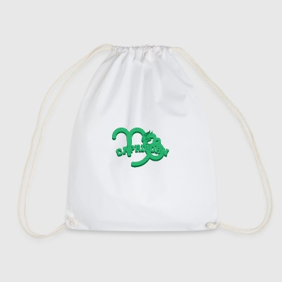 Star sign Capricorn / Zodiac Capricorn - Drawstring Bag