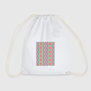 Moldavian folk ornament - Drawstring Bag