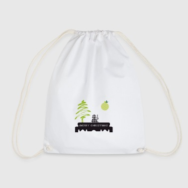 merry-rasierklinge Yoda yedi Christmas fir Punk - Drawstring Bag