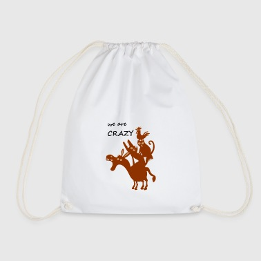 The crazy Bremen city musicians - Drawstring Bag
