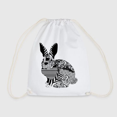Blomster Bunny - Gymbag